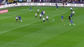 A Chelsea kegyetlen nagy góllal csinálta ki a Tottenhamet