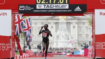 Világcsúcs is, meg nem is, amit a kenyai maratonista futott Londonban