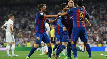 Messi 92. percben szerzett góljával nyerte a Barcelona a Clasicót