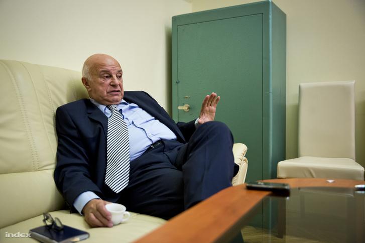 Nógrádi György egy indexnek adott interjún, 2015-ben.