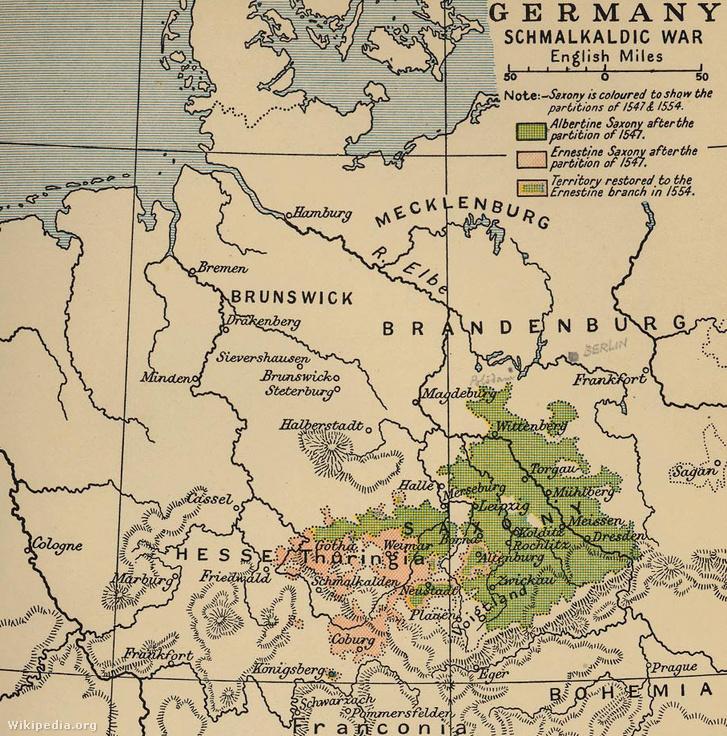 Schmalkaldic war 1547