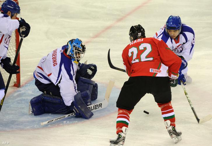 2013. április 15-én Budapesten játszott a két csapat