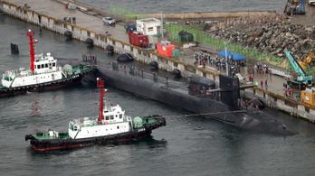 Megérkezett Trump tengeralattjárója Észak-Koreához
