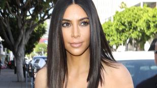 A tangás valóság: ilyen Kim Kardashian feneke retus nélkül