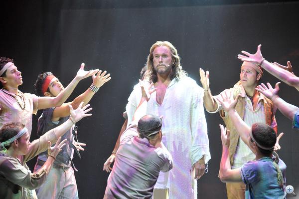 Krisztus szerepében Feke Pál