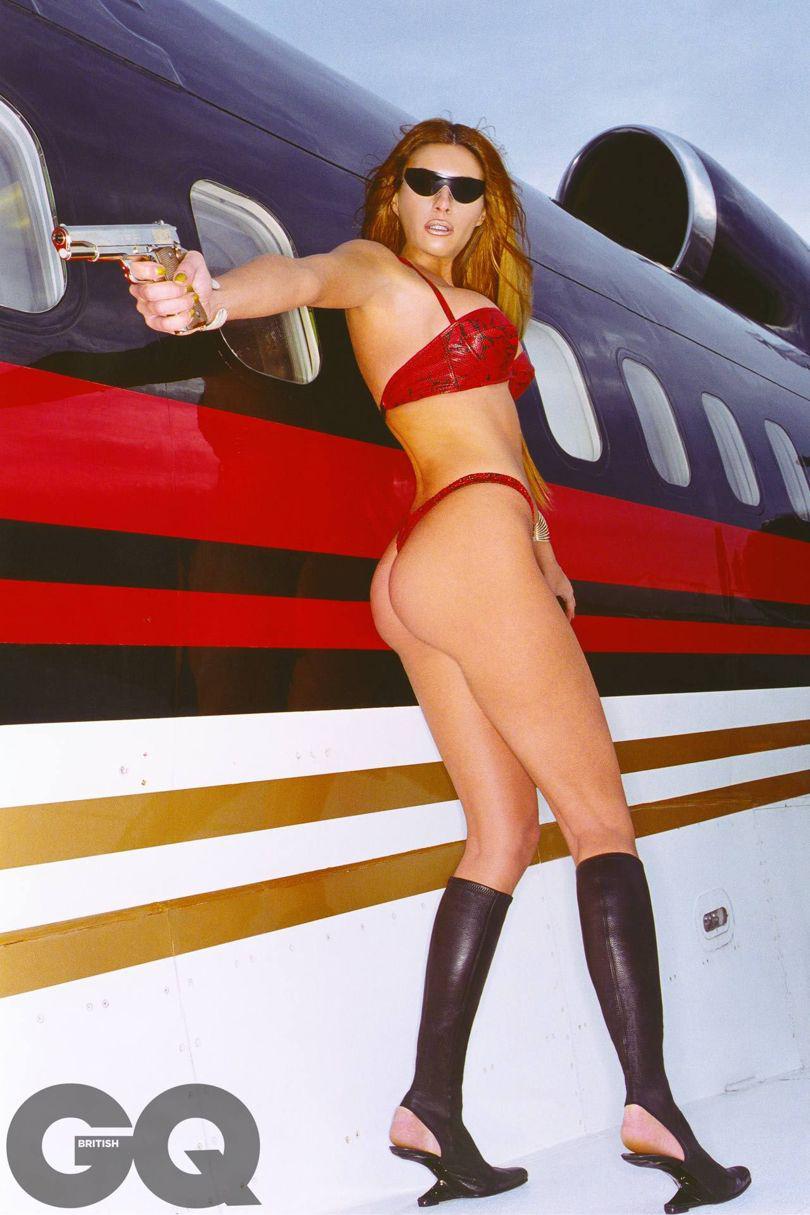 Melania Trumpról 2000 januárjában közölt egy bevállalós fotósorozatot a GQ magazin.