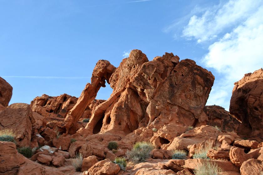 Az egyik leghíresebb kőforma az USA-ban, a Valley of Fire parkban, Nevadában található kőelefánt.