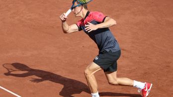 Fucsovics 6:2, 6:2-es győzelemmel kezdte a budapesti tenisztornát