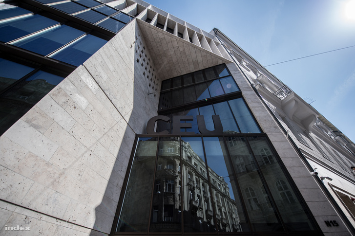 A CEU budapesti épülete a Nádor utcában.