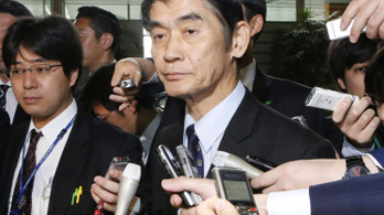 Szerencsétlen kijelentést tett egy japán miniszter a fukusimai katasztrófáról