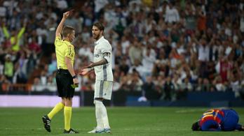 Ramos nem Neymar, eltiltották, de csak kicsit