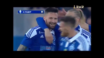 Kádár Tamás gólt ollózott a Dinamo Kijevben