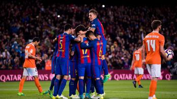 319. Barca-meccsén belőtte első gólját