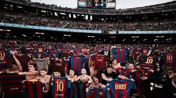 Messi őrületet indított el a madridi ünnepléssel