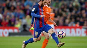 Messi nagy mutatványra készült, észrevette?