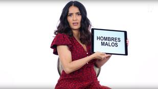 Salma Hayek mexikói szlengóráját vétek lenne kihagyni
