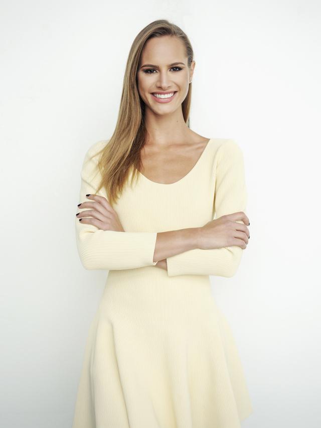 Nini Molnár, a modellből lett kiegészítő-tervező.