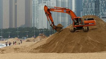 Szahara ide vagy oda, a világ lassan kifogy a homokból
