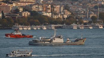 Elsüllyedt egy orosz hadihajó a Boszporusznál