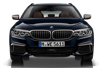 Végre megjött a négyturbós hathengeres ötös BMW