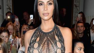 Kim Kardashian 100 ezer (!) követőt vesztett retusálatlan fotói miatt
