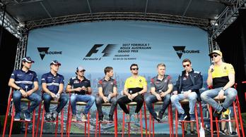 Fejvédő az F1-ben? Felesleges!