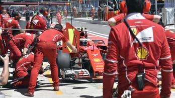 A Ferrari még ráerősített a 2. edzésen