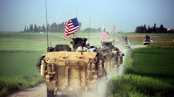 Őrjáratba kezdett az amerikai hadsereg a török-szír határon