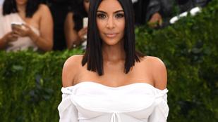 Nagyon nem ezt szoktuk meg Kim Kardashiantól