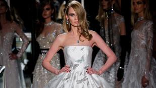 Így néz ki egy 457 milliós menyasszonyi ruha