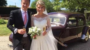 Egy pillanatra nem figyeltünk és lement a brit királyi ház legmenőbb esküvője