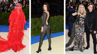 Nézd meg a Met-gála 10 legbénább ruháját!