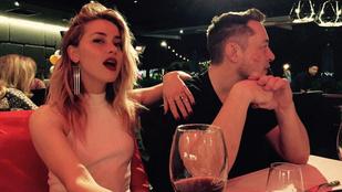 Amber Heard most tényleg nagyon-nagyon szerelmes