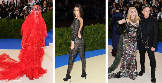 Katy Perry, Bella Hadid, Madonna és Jeremy Scott: tiszta bolondballagás.