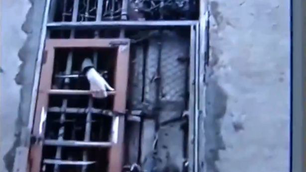 A szomszédok videózták le