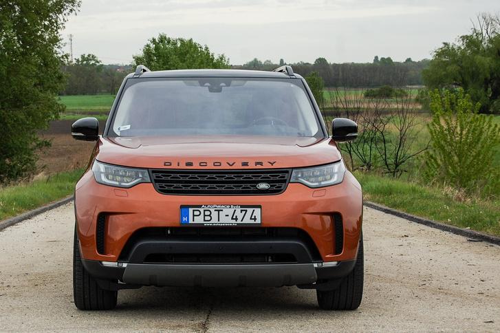 Jellemző az arca az újkori Land Rovereknek