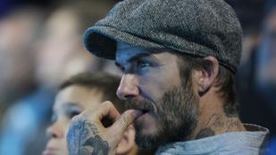 David Beckham így élvezi, hogy 42 éves lett