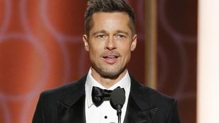 Brad Pitt a világtörténelem legszomorúbb címlapfotóján