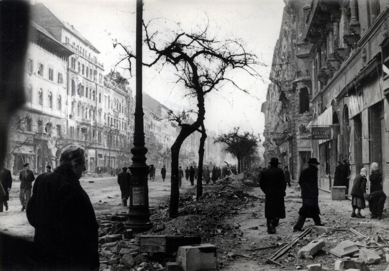 Nagykörút, 1956. október vége