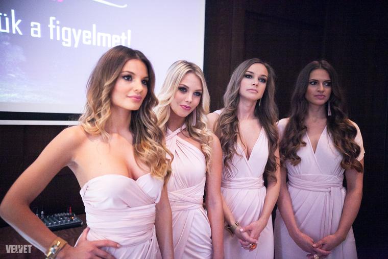 A Miss Balaton nagykövetei.A lányok számos rendezvényen népszerűsítik a Balatont és a szépségversenyt.