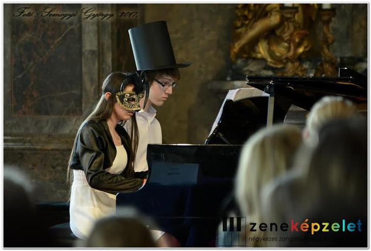A Zeneképzelet zongoraversenye