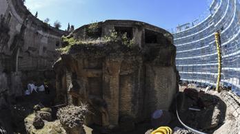 Felújítják a legnagyobb római sírépítményt