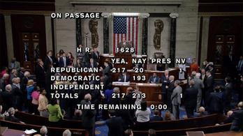 Megszavazta a képviselőház az Obamacare visszavonását
