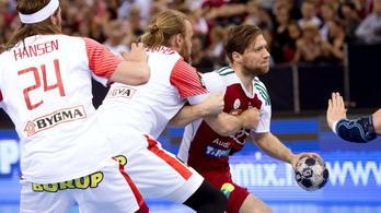 Időn túli hetessel mentett pontot az olimpiai bajnok Dánia