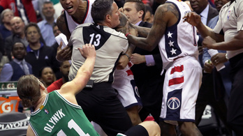 Washington Wizards Boston Celtics verekedés