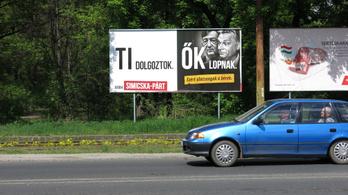 A Jobbik 150 milliós hitelt vett fel a plakátjaira