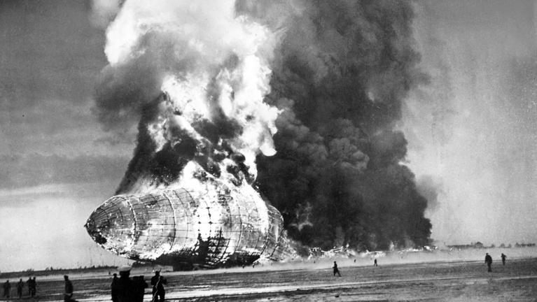 Örökre retinánkba égett a Hindenburgot elemésztő lángtenger