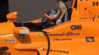 Alonso megnyerheti az Indy 500-at