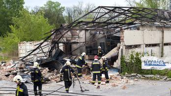 Óriási robbanás volt egy győri lakatosüzemben