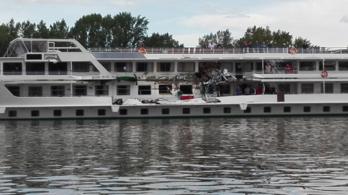 Összeütközött két hajó a Dunán